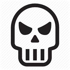 Halloween, helloween, october, punisher, skull icon