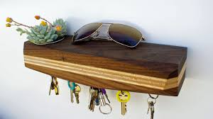 Organize effortlessly with Urb. A wall mounted succulent planter and  magnetic key rack.