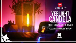 <b>Yeelight</b> - <b>Candela</b>: A pretty, Smart ambient light?! Full Review ...