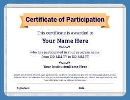 New Certificate Of Attendance Seminar Template Free Template Design