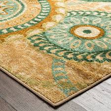 mohawk home strata forest suzani medallion printed area rug 6 x 9 multicolor b01b9w1srq