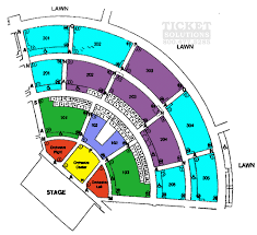 Cricket Amphitheatre Seating Chart North Island Credit Union Amphitheatre Seating Chart