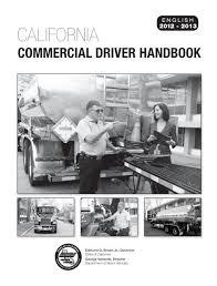 commercial driver handbook pdf