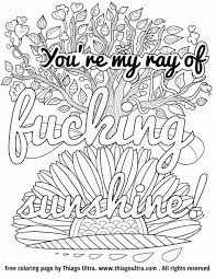 Coloring Pages Tremendoust Swear Word Coloring Book Pages Adult