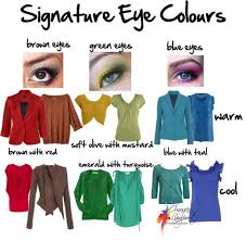 find your signature eye colours