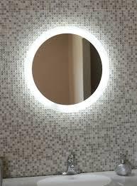 Lighted Vanity Mirror Vanity Lights For Round Mirror