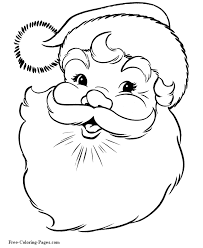 Small Picture Easy free santa claus coloring sheets Grootfeestinfo
