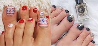 Toe Nail Art Designs Easy Cute Winter Toe Nail Art Designs Ideas 2016 Modern