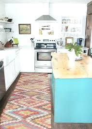 kitchen rugs washable red
