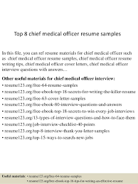 Cover Letter For Medical Office Best Top 48 Chief Medical Officer Resume Samples