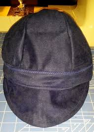 Welding Hat Pattern Adorable Sew A Welders Cap 48 Steps With Pictures