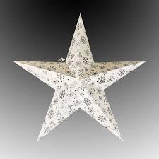 Led Stern Eiskristall Silber