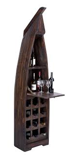 Extravagant <b>Wooden Boat</b> Wine <b>Cabinet</b> With Multiple Sections. Add ...