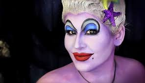costumes with makeup costume ideas that only use makeup tutorials ursula diy costume disney