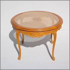amazing french cane coffee table with glass top for at cane coffee table with glass