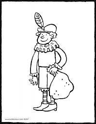 Sinterklaas Colouring Pages Pagina 3 Van 4 Kiddicolour