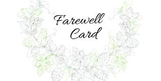Free Farewell Card Template Inspiration Free Farewell Invitation Card Party Sample Baycabling