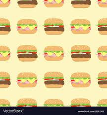cheeseburger pattern. Exellent Cheeseburger Pattern Hamburger Cheeseburger Vector Image For Cheeseburger H