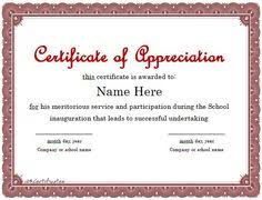 Commendation Letter Template Nice Editable Certificate Of Appreciation Template Example With