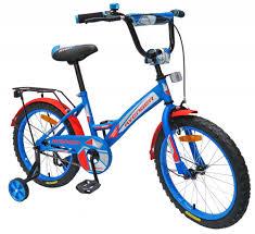 Детский <b>велосипед AVENGER NEW</b> STAR 16, голубой/красный ...