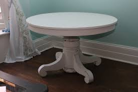custom order antique dining table white distressed shabby chic round pedestal coffee table antique