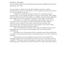 Cover Letter Journal Submission Sample. new cover letter for ...