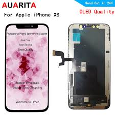 Oled LCD For iphone XS A1920 A2097 A2100 A2098 LCD Display+Touch panel  Screen Digitizer Assembly for apple iphone XS lcds|Mobile Phone LCD  Screens