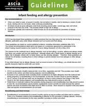 guidelines infant feeding