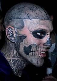 Tetování Lebka Tetování Lebka V Kriminálním Prostředím Usiluje O Moc