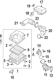 parts com® kia sorento engine appearance cover oem parts diagrams 2007 kia sorento lx v6 3 8 liter gas engine appearance cover