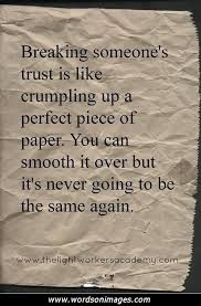 Friendship Quotes With Trust