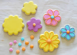 decorated flower sugar cookies. Unique Decorated How To Decorate Flower Cookies  By Glorious Treats On Decorated Flower Sugar Cookies