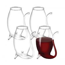 avanti glass port sippers 75ml set of 4