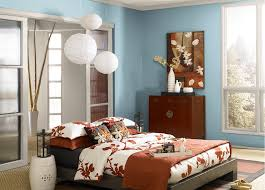Blue bedroom colors Aqua Bedroom With Soft Blue Walls Painted With Behr Casual Day Paint Surrounding Modern Bed Advanced Sleep Medicine Services Inc Bedroom Colors That Can Affect Your Mood Liberty Hardware