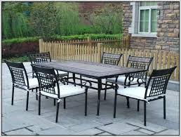 cast aluminum patio furniture costco outdoor furniture