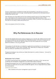 Reference Resume Template Medicinabg Fascinating Should You Put References On Your Resume