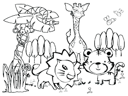 Australian Animal Coloring Pages For Kids Kangaroo Disney Boys