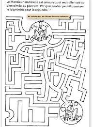 Coloriage Labyrinthe Pirate L L L L L L L