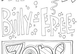 Free Printable Anti Bullying Coloring Pages Bullying Colouring Pages