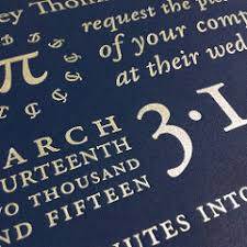pi day invitation pi day letterpress wedding invitations silver ink on ne flickr