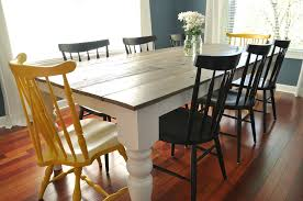 furniture alluring rustic farm dining tables 28 enchanting farmhouse table white wooden with 8 seat vas