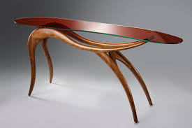 organic furniture design. Organic Design Sideboard Table / Wooden Glass Curved Furniture F