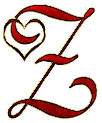 alphabet letter initial heart