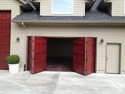 image of automatic bi fold garage doors