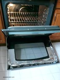 clean between glass on oven door surprising clean oven glass door how to clean between the