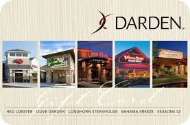10 darden restaurant group gift card