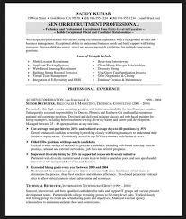 Technical Recruiter Resume Resume Databases For Recruiters ...