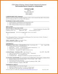 Resume Summary For High School Student Itacams 7be1890e4501