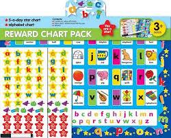 5 Day Reward Chart Buy Reward Chart Pack 3 Alphabet And 5 A Day Book Online