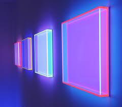 Plexiglass Light Regine Schumann Fluorescent Acrylic Glass Art Trendland
